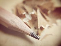 Pencil point Stock Images