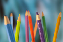 Pencil points Royalty Free Stock Image