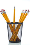 Pencil with pot Royalty Free Stock Photography