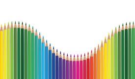 Pencil rainbow Stock Photography