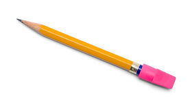 Pencil with Replacement Eraser Royalty Free Stock Images