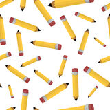 Pencil seamless pattern Royalty Free Stock Images