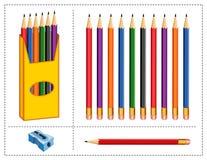 Pencil Set Stock Photo