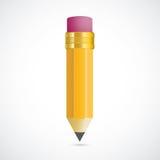 Pencil Shadow Stock Photo