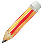 Pencil with sharp lead Royalty Free Stock Photo