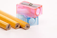 Pencil-sharpener Royalty Free Stock Photography
