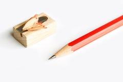 Pencil sharpener Royalty Free Stock Images