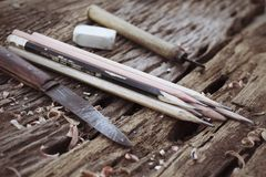 Free Pencil Sharpener Royalty Free Stock Images - 36223089