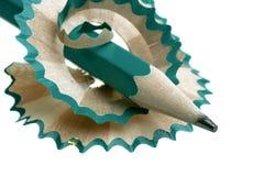 Pencil sharpener. Grinding manual machining mechanical pencil sharpener Royalty Free Stock Photo