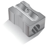 Pencil sharpener icon Stock Image