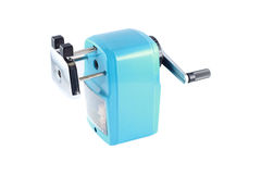 Pencil sharpener isolated on white Royalty Free Stock Images