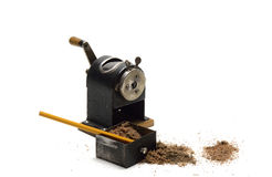 Pencil Sharpener Royalty Free Stock Image