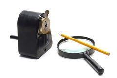 Pencil Sharpener Royalty Free Stock Photography