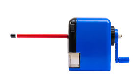 Pencil Sharpener Side View Stock Image