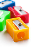 Pencil sharpeners Royalty Free Stock Photography