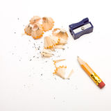 Pencil Sharpening Royalty Free Stock Image