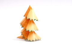 Pencil shaving tree Stock Photography