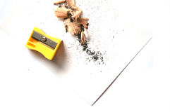 Pencil shavings Royalty Free Stock Image