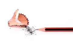 Pencil Shavings Stock Photography