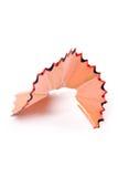 Pencil Shavings Stock Photo