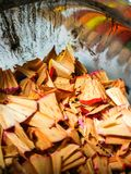 Pencil Shavings royalty free stock images