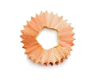 Pencil shavings Stock Photography