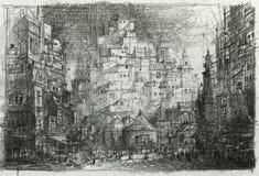Pencil sketch Stock Image