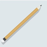 Pencil stationery object icon vector illustration Concept Royalty Free Stock Image