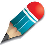 Pencil stump royalty free illustration