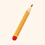 Pencil theme elements Stock Photos