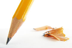 Pencil tip Stock Photo