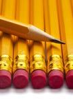 Pencil tip macro Stock Images