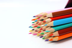 Pencil tips Royalty Free Stock Images