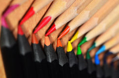 Pencil Tips Stock Image