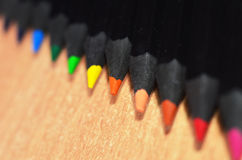Pencil Tips Royalty Free Stock Photos