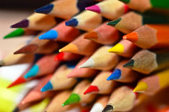 Pencil Tips Stock Photography
