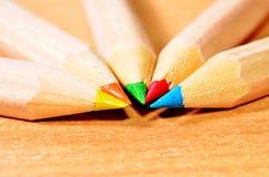 Pencil Tips Stock Photos