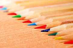 Pencil Tips Stock Photos