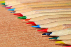 Pencil Tips Royalty Free Stock Photo