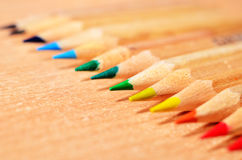 Pencil Tips Royalty Free Stock Photography