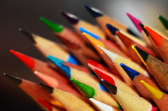 Pencil Tips Royalty Free Stock Image