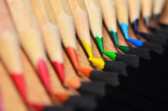 Pencil Tips Stock Images