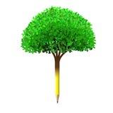 Pencil tree Royalty Free Stock Image