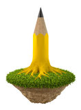 Pencil tree Stock Photos