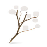 Pencil tree shaped Royalty Free Stock Photos