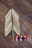 Pencil Tree Royalty Free Stock Photo