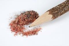 pencil vässat trä Arkivfoton