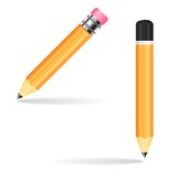 Pencil vector illustration Royalty Free Stock Images