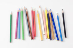 Pencil was put to pieces Royalty Free Stock Image
