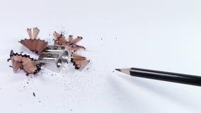 Pencil wavy line stock video footage